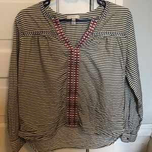 Striped J. Crew Long-Sleeve, Great condition